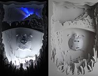 Paper Handmade 3D Art