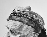 Nikos Kavvadias ( portrait) Νίκος Καββαδίας