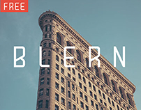 Blern (Free Typeface)