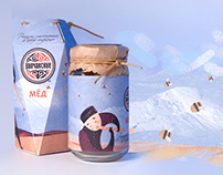 Package design: concept for an existing brand