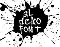 aldekofont - font design