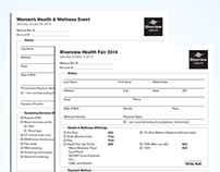 Health Registration Forms