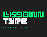 Lkdown | Free font