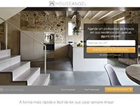 Hotsite do serviço HouseAngel (2016)