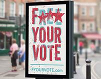F*** Your Vote Campaign