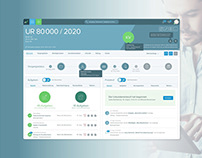 Legal SaaS Dashboard, Desktop and Tablet App