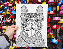 24 Dog and Cat Illustrations