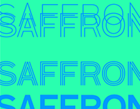 Saffron Display bespoke typeface