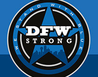 DFW Strong Event Identity (2016)