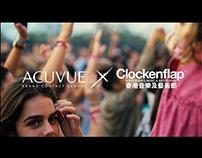 Acuvue X Clockenflap