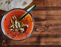 Gazpacho - Food photography