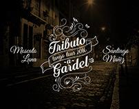 Tributo a Gardel - presentación interactiva