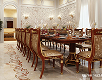 Private Residence Dining Area - 2015 Qatar