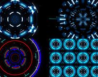 Techno Pulse - VJ Loop Pack (4in1)