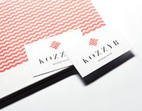 «KOZZYR» knitted fashion. Brand identity.