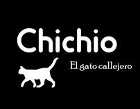 Chichio el gato callejero