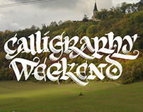 Calligraphy Weekend
