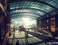 3D visual works--Yongtai Hotel project