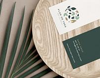 Branding para taller de arte floral