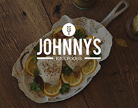 Johnny's Fine Foods | Identity System