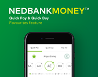 Nedbank - Quick Pay & Quick Buy Favourites feature