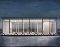 Klenovyi Bulvar Station Concept