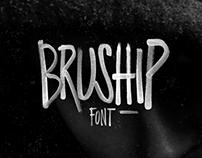 Bruship / Handmade Font