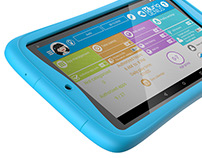 Kurio - Case for Alcatel Touch tablet