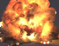 Explosion w Debris