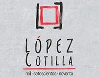 López Cotilla1790: Logo y papelería