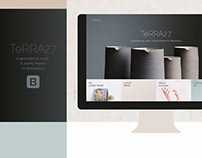 Terra - Bootstrap 4 Theme/Template