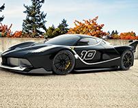 Ferrari FXX FK 2016 - 3D Render