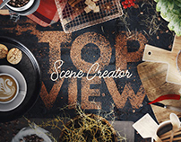 Coffee Scene Creator – Top View