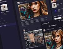SOHOMUSE. Social Network for Creative Professionals.