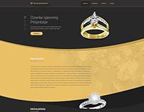 Reyyan Kuyumculuk Web Interface Design