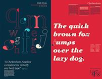 Cheltenham Font Study