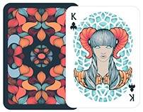 DECK OF PLAYING CARDS  ZODIAC