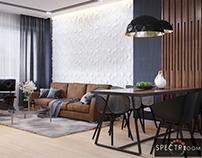 Design living room_Lviv
