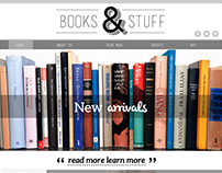 Books & Stuff  [ Web Design ]