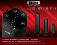 Creative Labs - Sound Blaster Axx eMailer