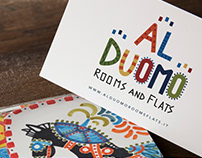 LOGO DESIGN | Al Duomo Rooms and Flats