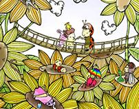 Love Of The Sunflower/Illustration