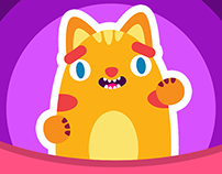 Toby Cat - Sticker Pack!