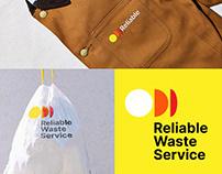 Reliable Waste Service Brand Identity Design