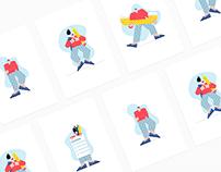 Illustrations for MICFO'S Website
