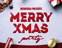 Merry Xmas Party Flyer