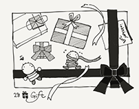 Inktober2018 : 28 Gift