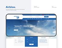 Airblower Demo Website