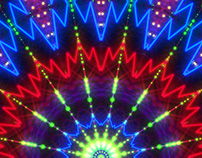 Stage Kaleidoscope Visuals VJ Pack