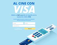 Al Cine con VISA